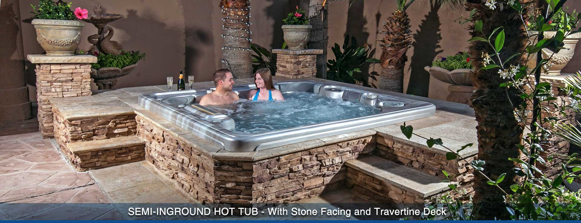 In Ground Hot Tubs Canada Round Designs