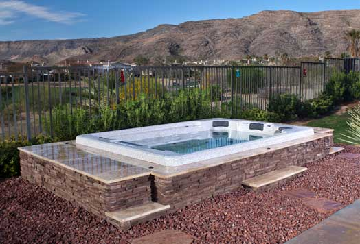 Creative Spa Designs Premier Inground Portable Hot Tubs And Swim In Las Vegas